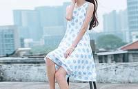 文藝連衣裙 完美裝出小資文藝范