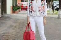 白褲子穿出時尚新高度