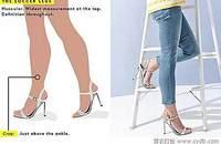 牛仔裤型对了 你的腿就美了