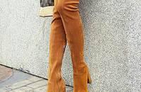 時髦的過膝長靴 讓你暖暖的來露腿