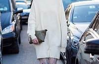 一件温暖针织衫穿出时髦 花样轻松到冬天