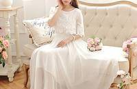 显瘦雪纺裙+九分阔腿裤+小清新短裙
