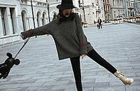 加绒打底裤,穿一条美美过冬!