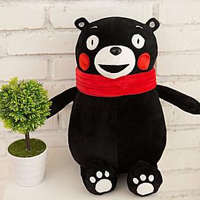 熊本熊可爱的造型,萌萌的表情,怎么看怎么喜欢.