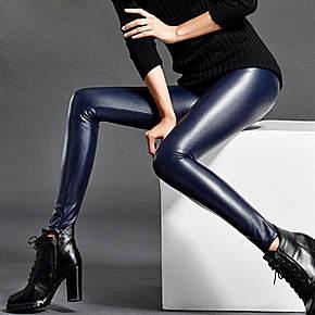 加绒皮裤,保暖显瘦秀性感美腿
