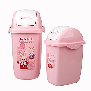 翻盖迷你垃圾桶,房间桌面都要像公主一样整整齐齐的