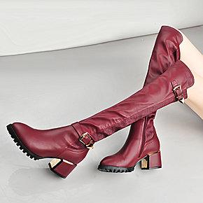 秋冬一双长筒靴,给你摩登的温暖