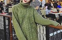 温暖高领毛衣,走出复古情调