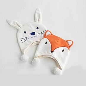 小兔子和狐狸造型都非常可爱,让宝宝在这个冬天可爱度up