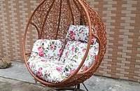 阳台吊篮藤椅 圆你秋千梦