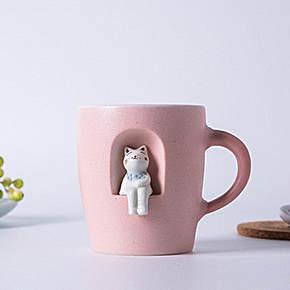 杯子图案设计手绘图 手工杯子创意设计图片 创意杯子设计