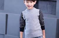 男童出行潮装,演绎简约时尚