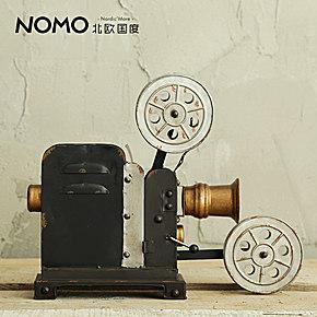 nomo vintage老式电影机装饰摆件美式复古摄影道具橱窗摆设放映机图片