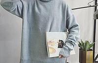 时尚套头毛衣,让你紧追潮流的步伐