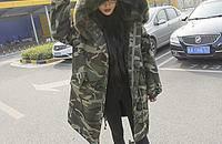 今年流行的蓬蓬款羽绒服和棉大衣