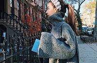 減齡高領毛衣,給你密不透風的時尚