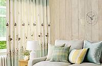 窗帘给家套上一层温暖