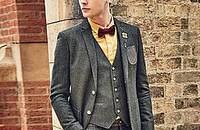 紳士風穿搭,小心派對上回頭率爆表