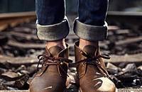 气质范工装靴,会穿才能潮
