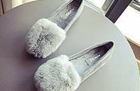 毛毛鞋,让双脚轻松体会休闲舒适