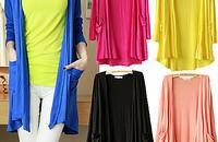 针织衫开衫长袖中长款女士外搭披肩空调衫防晒衣