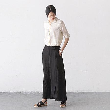 女装文艺范春夏装宽松长裤