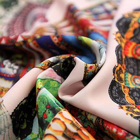 时尚印花短袖显瘦哈伦九分裤休闲套装女潮