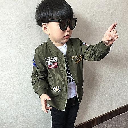男童秋装夹克外套