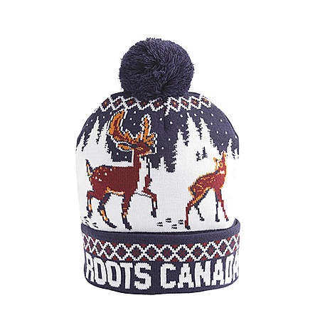 roots圣诞元素保暖帽