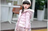 韩版冬季儿童棉衣三件套