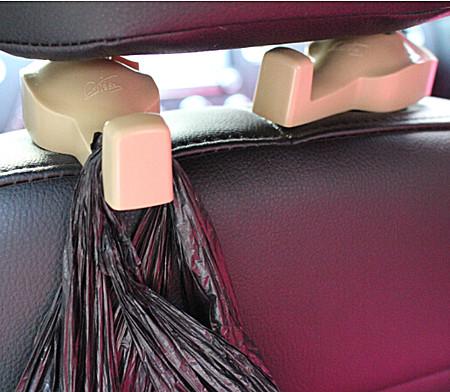 第三代车用隐藏式汽车挂钩车载多功能置物挂钩