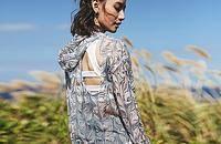 暴走的萝莉·印花镂空美背套头衫