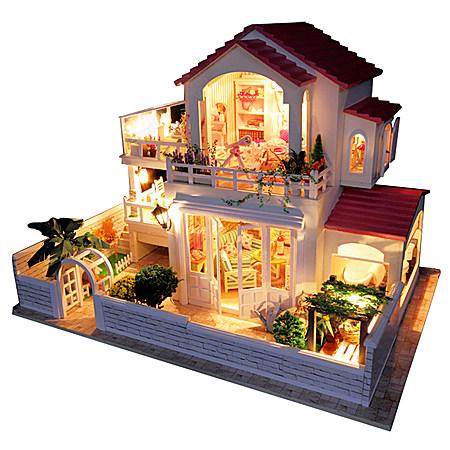 DIY小屋 小时代手工拼装房子建筑