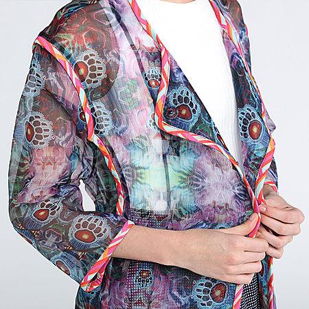 歐根紗外套