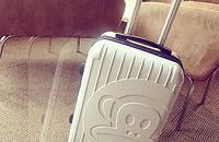 万向轮拉杆箱卡通儿童旅行行李20寸登机箱男女潮