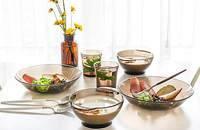 钢化玻璃餐具套装
