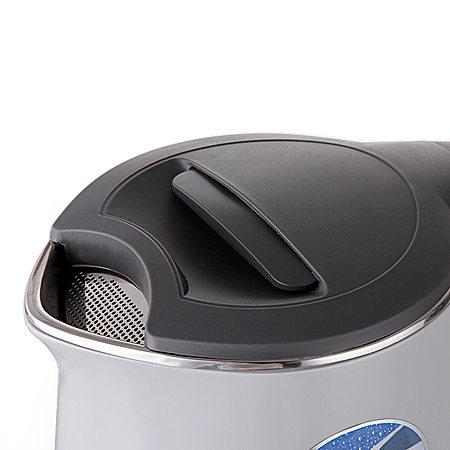 格来德双层防烫保温电热水壶带温度显示功能