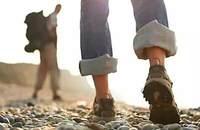 北面15新款男士防水透氣耐磨抓地皮面休閑徒步鞋