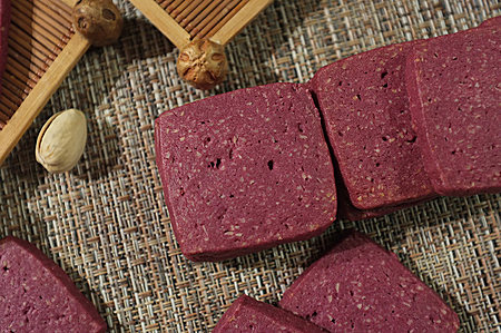 紫薯椰蓉曲奇