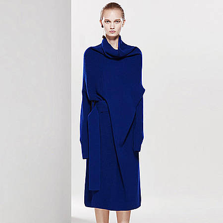 气质羊毛针织裙
