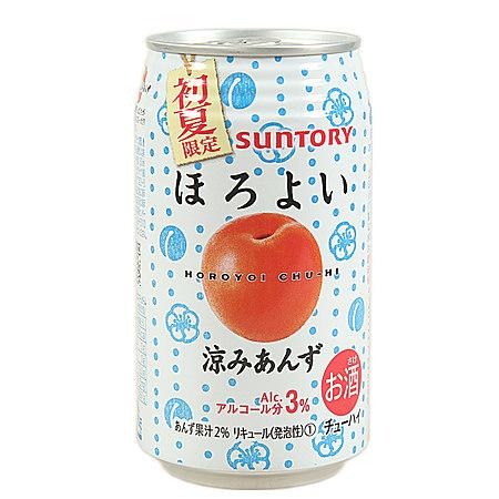 日本进口饮料 三得利酒饮料 低酒精果汁饮料