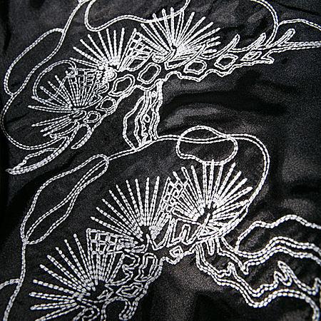 刺绣MA1夹克