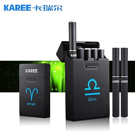 正品新款十二星座双杆电子烟套装男士戒烟产品