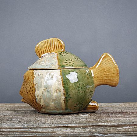 酷坦哥陶瓷创意储物罐