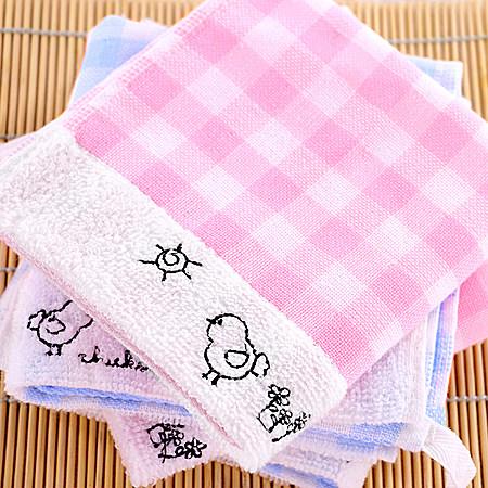 纯棉纱布小毛巾宝宝儿童洗脸擦手巾