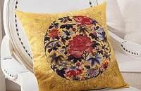 现代中式亚麻抱枕