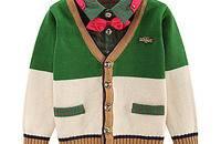 强烈推荐一款时尚领结儿童针织衫
