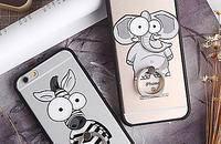金锐 小动物苹果6S手机壳iPhone6 plus手机套