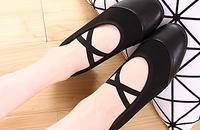 广场舞鞋舞蹈鞋女真皮软底女士跳舞鞋交谊舞鞋