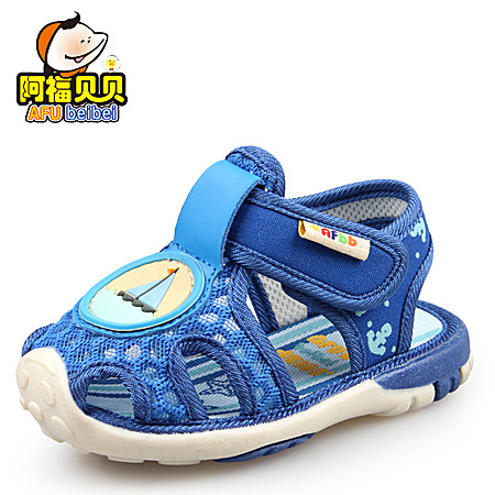 阿福貝貝寶寶涼鞋男寶寶鞋網眼鞋學步鞋嬰兒鞋女